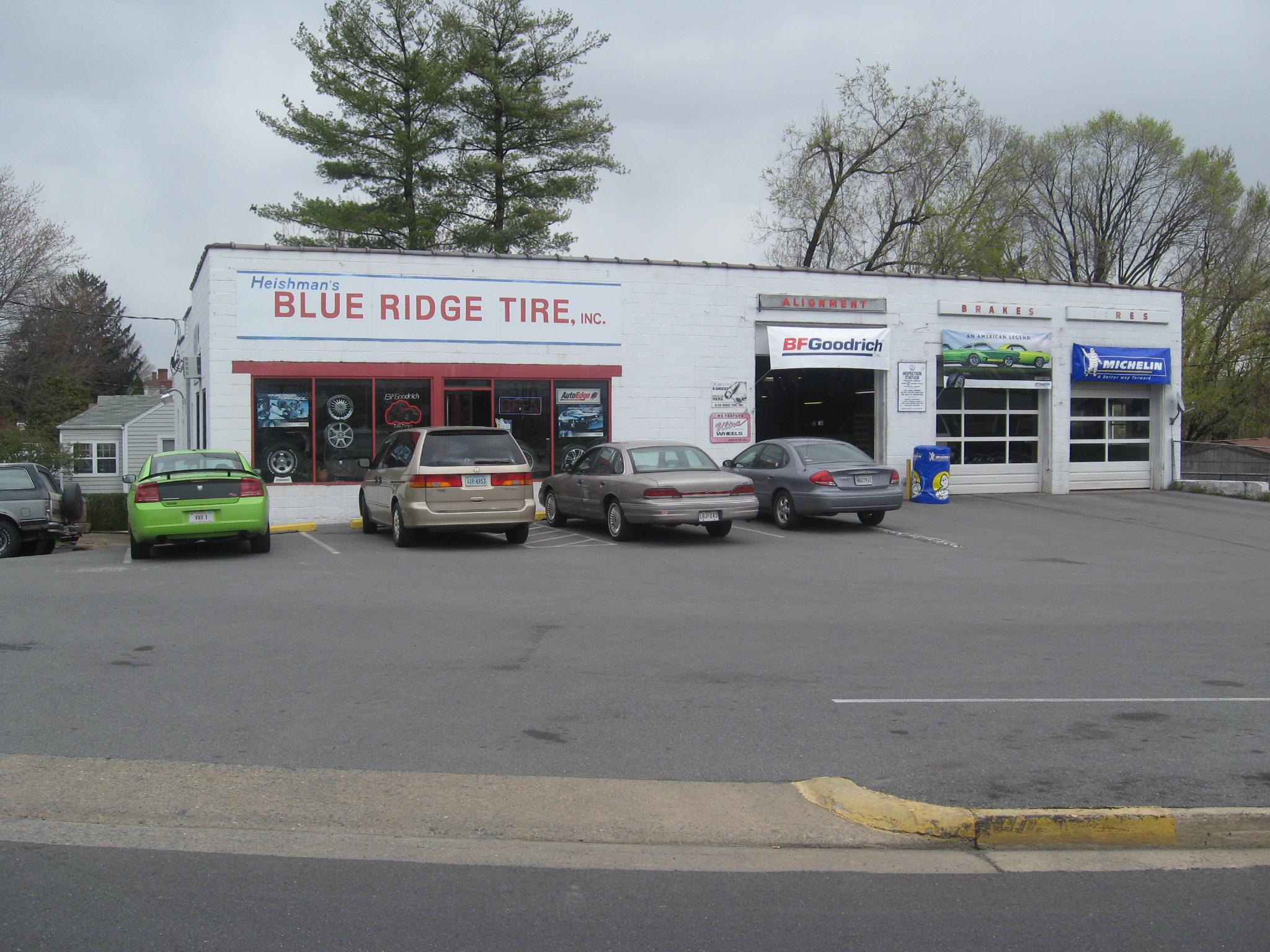 Blue Ridge Tire >> Blue Ridge Tire Inc 700 Old Furnace Rd Harrisonburg Va 22802 Yp Com