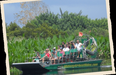 Airboat Rides at Midway - Orlando's #1 Airboat Tour Christmas, FL ...