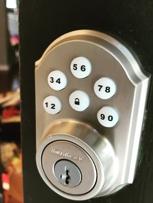 Keypad secure lock #locksmith