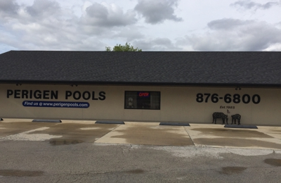 Perigen Pools - Granite City, IL. Shopping at Perigen Pool's and the store was stocked with everything we needed on O-rings filters motors good price pools everything we need