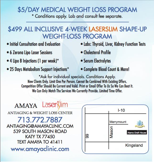 Amaya Anti Aging And Weight Loss Center 539 S Mason Rd Katy Tx