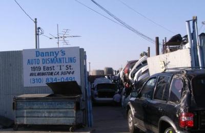 Dannys Auto Parts >> Danny S Auto Dismantling 1919 E I St Wilmington Ca 90744