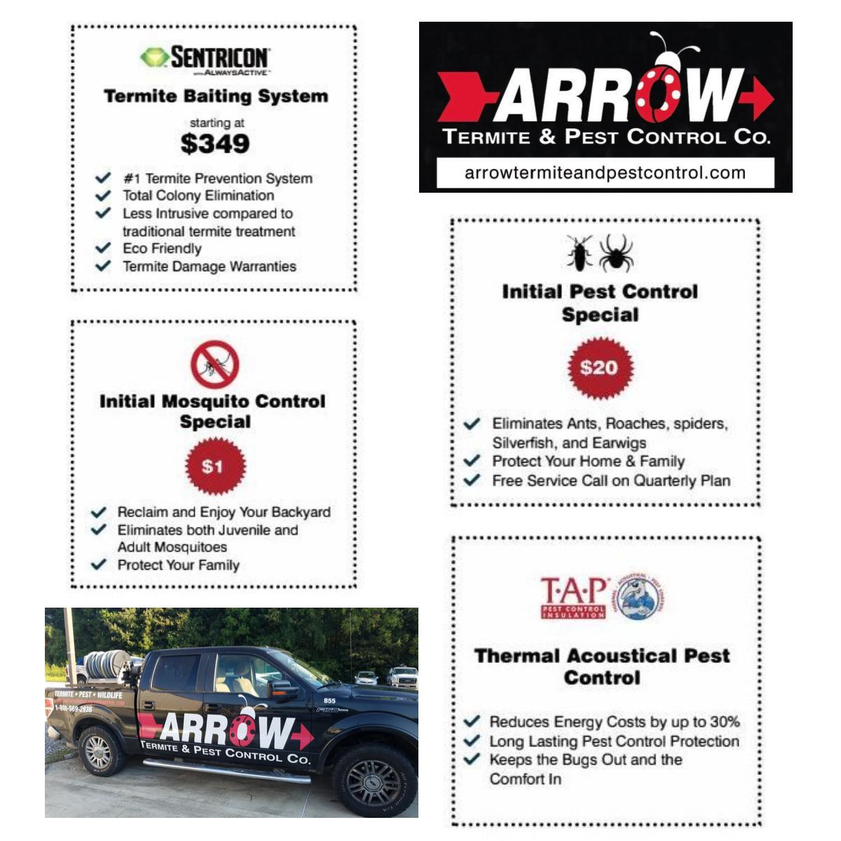 Arrow Pest Control 4720 Jones Creek Rd, Baton Rouge, LA