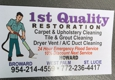 1st Quality Restoration - Port Saint Lucie, FL