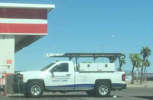 At circle K in Gila bend at 2:30 pm when he told me at 1:15 he was in Gila bend on way to Ajo!