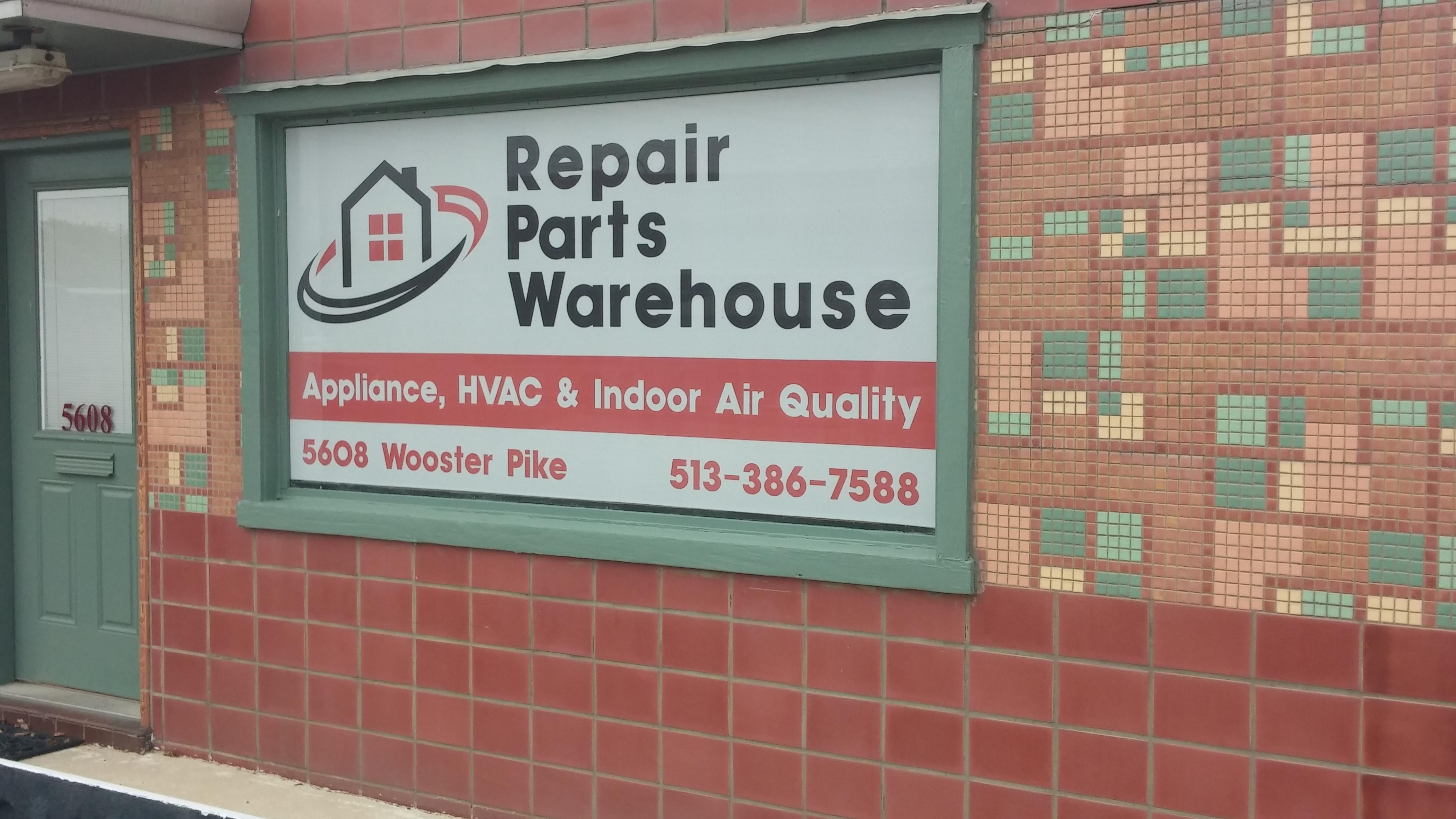 Repair Parts Warehouse 5608 Wooster Pike, Cincinnati, OH