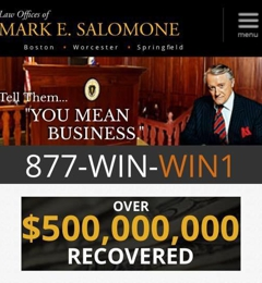 Law Offices of Mark E. Salomone - Boston, MA
