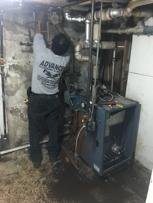 Replacing gas fired steam boiler n water heater #1