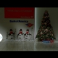 Bank of America Business Capital - Corporate - Pasadena, CA. Nice xmas decoration at bank of america