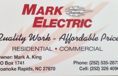 Mark Electric - Roanoke Rapids, NC