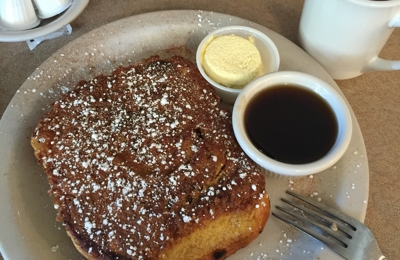 Bill's Cafe - San Jose, CA. Cinnamon roll French toast