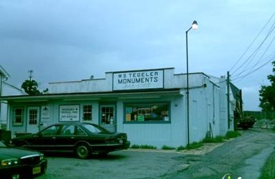 W S Tegler Monuments - Gwynn Oak, MD