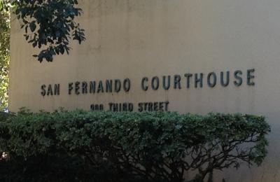 Los Angeles Superior Court - San Fernando, CA. San Fernando Courthouse