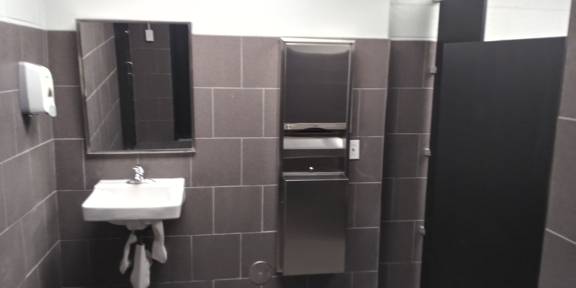 The Custom Painting Company & General Contracting. Commercial Bathroom Remodeling