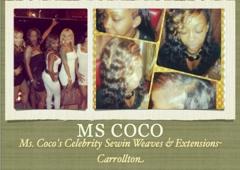Ms. Coco's Celebrity Sewin Weaves & Extensions- Carrollton - Carrollton, TX
