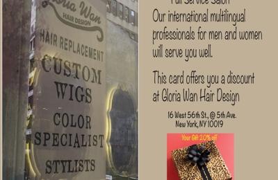 gloria wan hair design - New York, NY