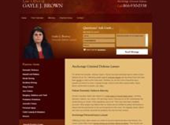 Law Office of Gayle J. Brown - Anchorage, AK
