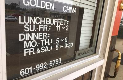Golden China Restaurant - Flowood, MS. Business time