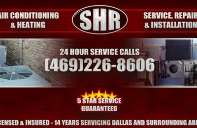 SHR A/C & Heating - Dallas, TX. Awesome ac repair in dallas