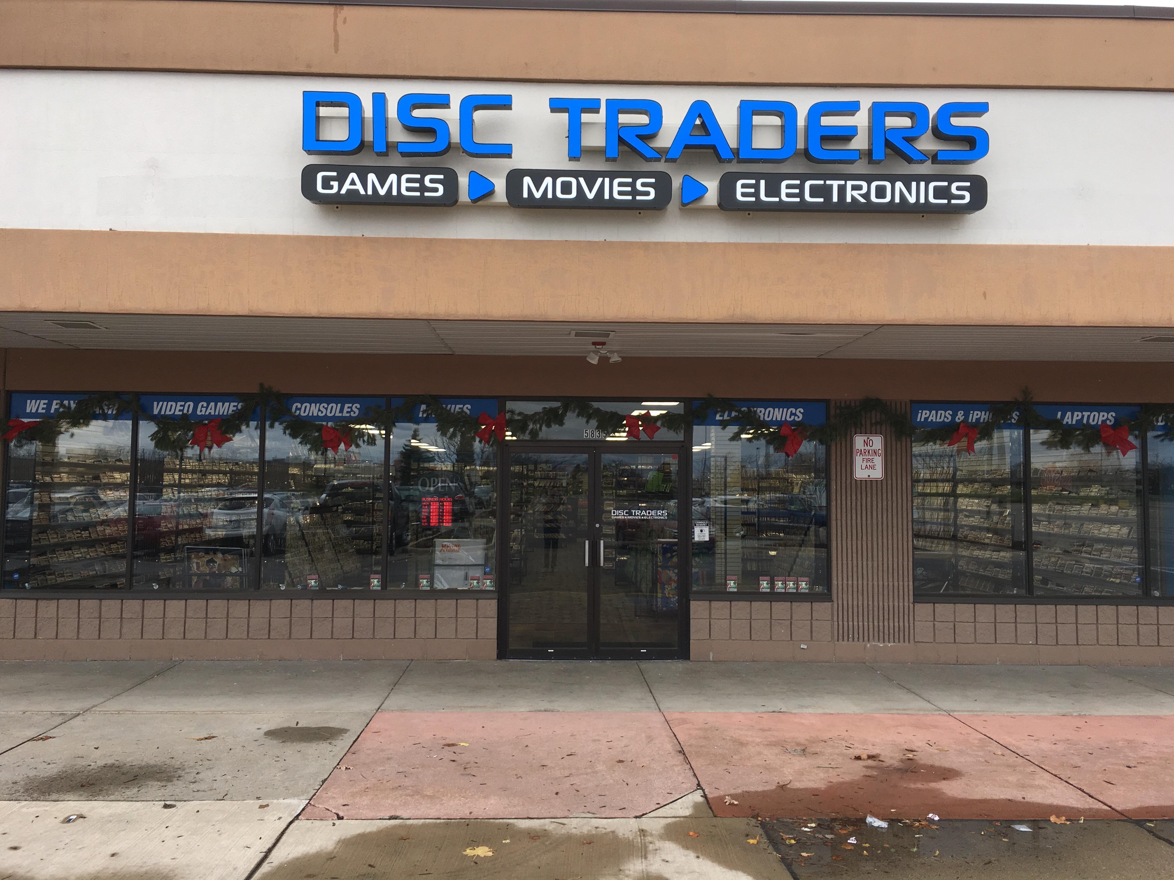 Disc Traders 5835 W Saginaw Hwy Lansing Mi 48917 Yp Com