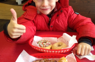 Apple fritters are our favorite!