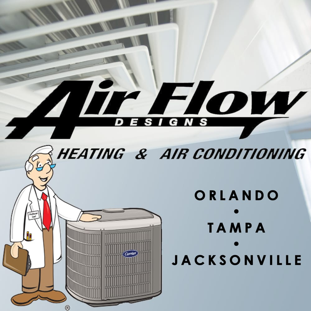 Florida state certified class a air conditioning contractor and epa - Logo Services Products When Your Ac Goes Out In Florida You Need Help Fast For Six Decades Air Flow Designs Has Installed Or Serviced Nearly One