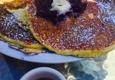 Barbrix - Los Angeles, CA. Ricotta and polenta pancakes - really big!