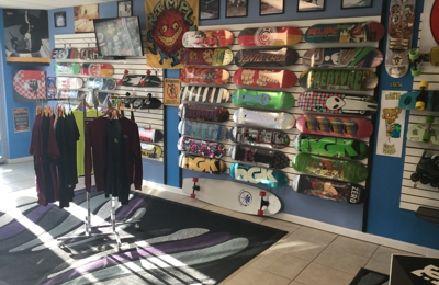 Skateboard City - Neptune Beach, FL. Pro Decks $ 56 and Under ~ Skateboards bought here get Free your Choice Mob, or Jessup griptape, Hardware and Shock Pads