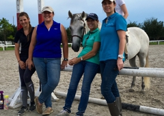 Southern Breeze Equestrian Center - Fresno, TX. It takes a Team to show!