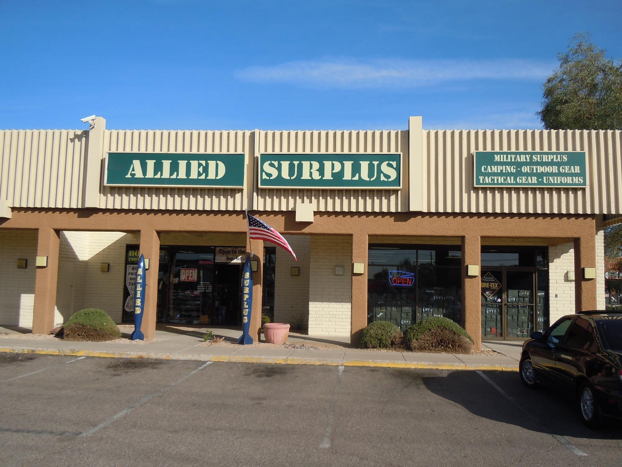 Allied Surplus 12450 N 35th Ave, Phoenix, AZ 85029 - YP.com