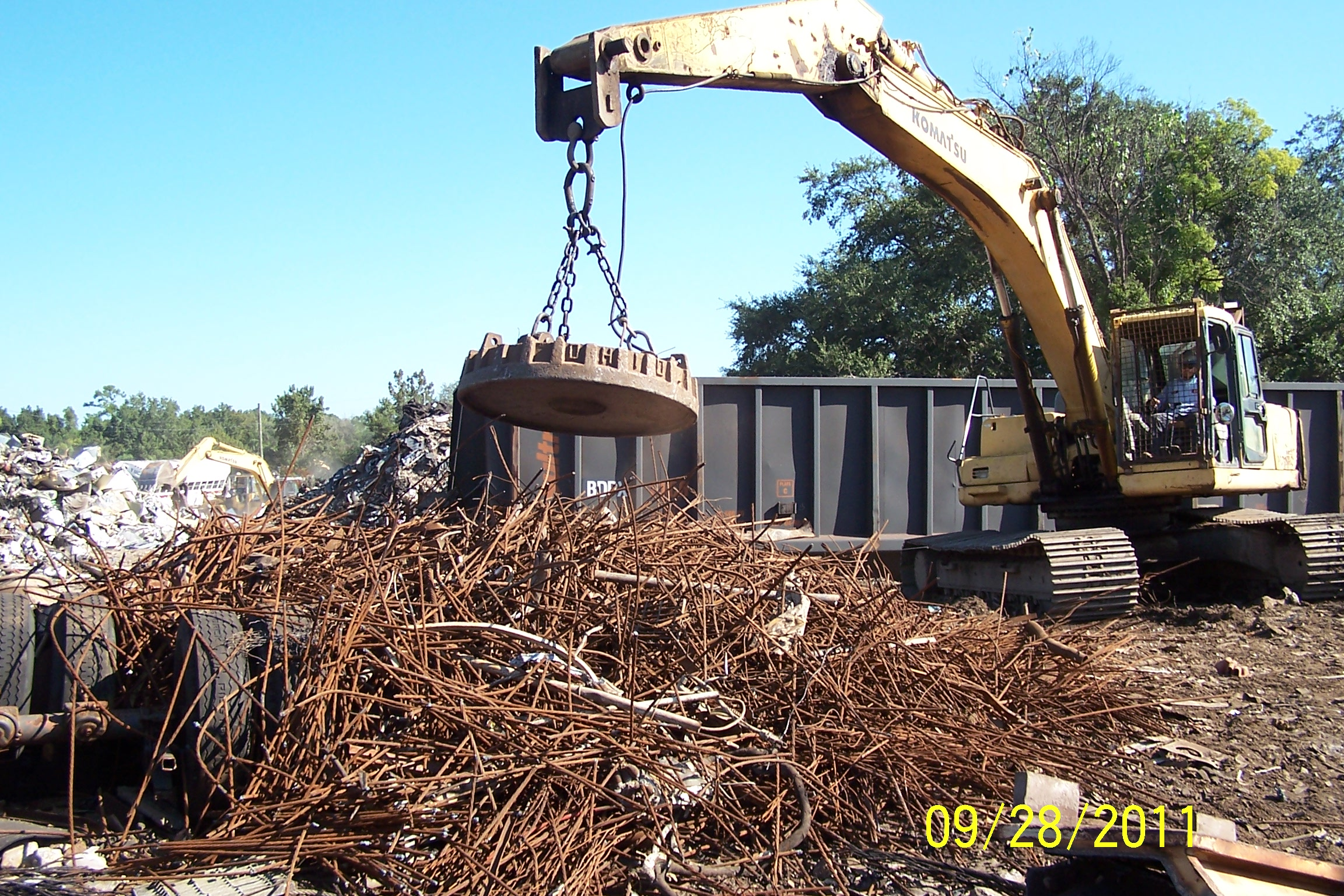 Nail In Tire Repair >> Dominion Metal Recycling Center 2400 Old New York Ave, Deland, FL 32720 - YP.com