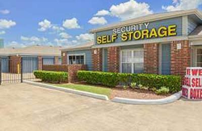 Security Self Storage - Houston, TX