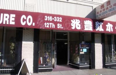 Shiu Fung Rosewood Furniture Company - Oakland, CA