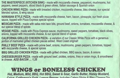 Pizza Express - Jamestown, NY