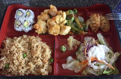 Little Tokyo - High Point, NC. Hibachi Box. Yummy!!