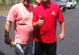 Americas Movers Inc. - Davie, FL. Mr. Guido with driver Anthony all moved in to his retirement house! Stress free moving!