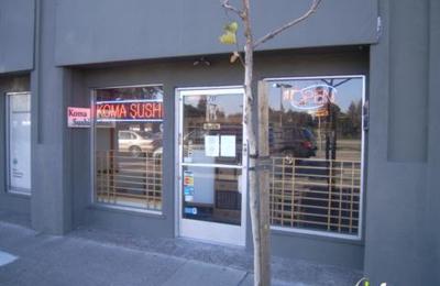 Koma Sushi Restaurant - Menlo Park, CA