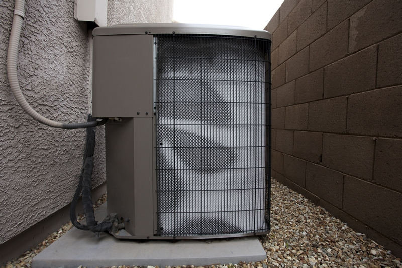 Some air conditioner models require outdoor condensers that pump out heat.