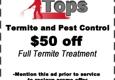 Tops Termite & Pest Control - Fort Worth, TX
