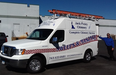 """Jack Pixley Chimney- Sweeps & Masonry - Minneapolis, MN. """"The Name You Can Trust"""" since 1977"""