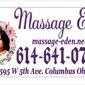 Massage Eden - Columbus, OH