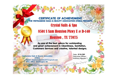 Crystal Nail & Spa - Houston, TX