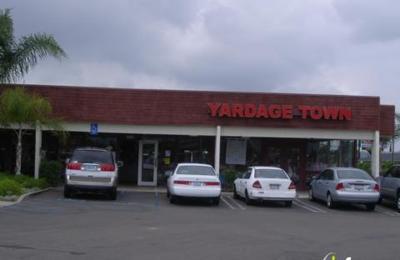 Yardage Town 1043 Broadway El Cajon Ca 92021 Yp Com