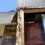 Hawkeye painting service - El paso, TX. Fix all types of damage wood like chimneys extrior