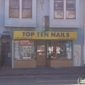 Top Ten Nails - San Francisco, CA