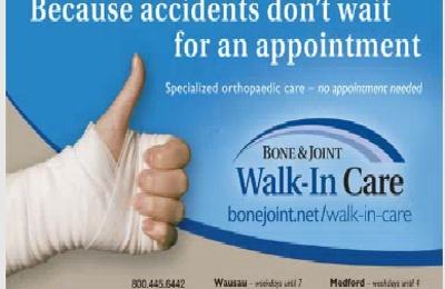 Bone & Joint Clinic 5200 Hummingbird Rd, Wausau, WI 54401