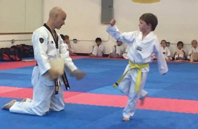 Atlanta's United Tae Kwon DO - Decatur, GA. Belt test!