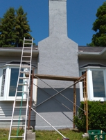 Repairing chimney  stucco ,stone, brick or block
