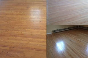 Before mid n after refinish