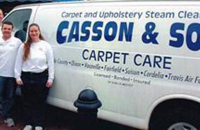 Casson & Son Carpet Care - Winters, CA